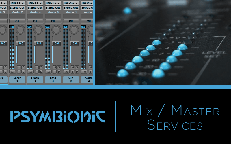Psymbionic Mastering Services