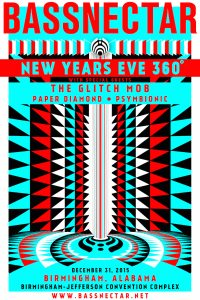 Bassnectar 360 NYE w/ The Glitch Mob & Paper Diamond