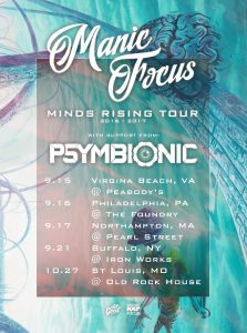 Tour Dates w/ Manic Focus
